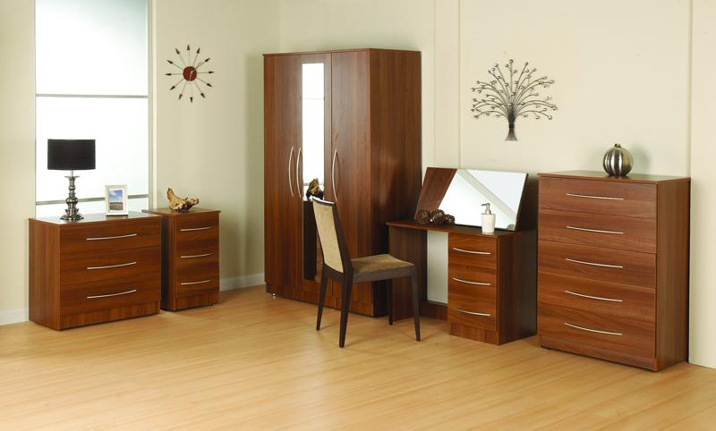 Tuscany Furniture Range In Walnut Veneer Pl Furniture