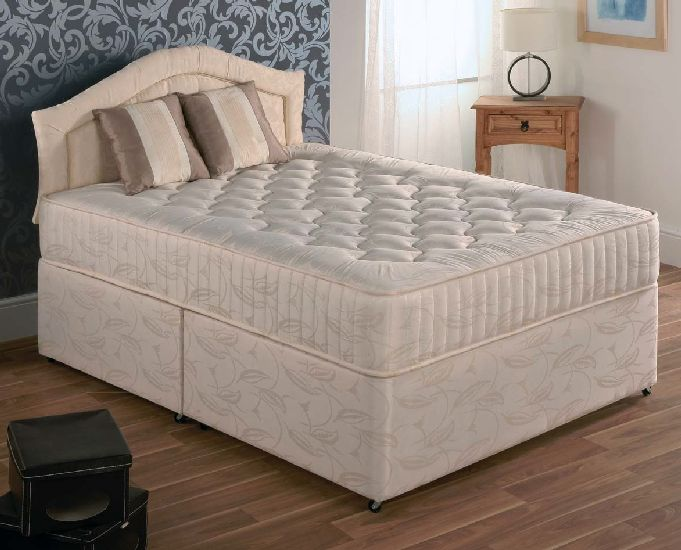 Royal deluxe divans mattresses pl furniture for Double divan