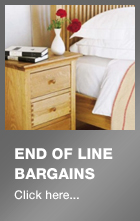 End of line bargains